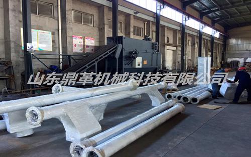 山东客户订购的DGGL-200管链输送机发货