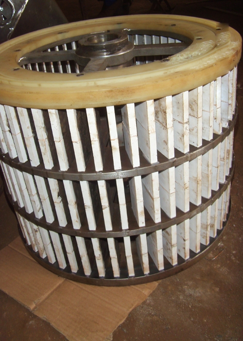 陶瓷防护分级轮