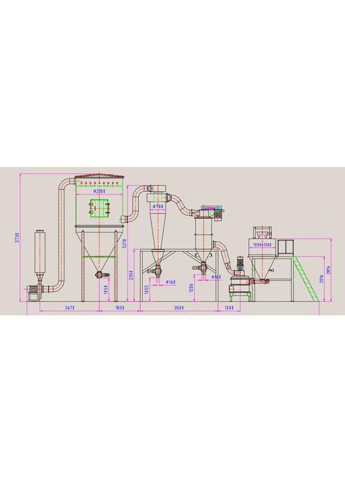 石墨球化机工艺图