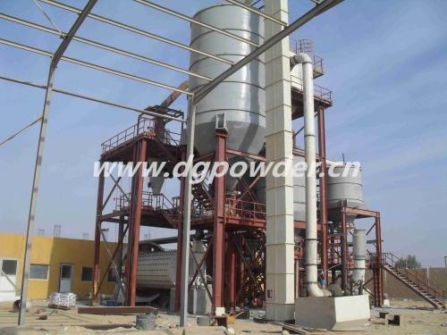 埃及球磨生产线安装完工