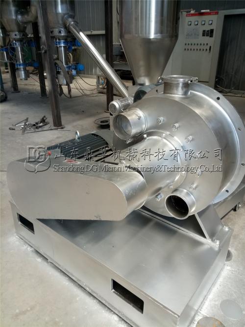 吉林药材公司定做的DGJX600机械粉碎机生产完工
