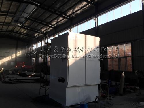 烟台客户定制的全自动拆包机生产完工