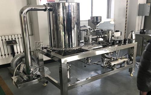 QL-S100实验室专用气流粉碎机