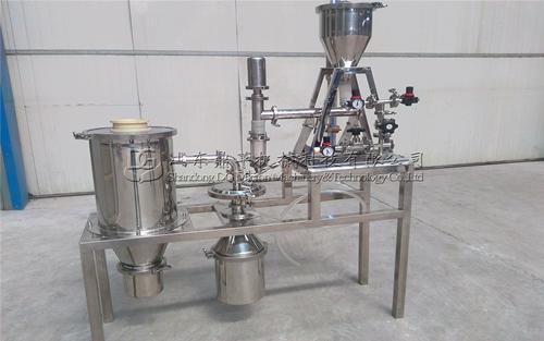 QL-S50实验室专用气流粉碎机