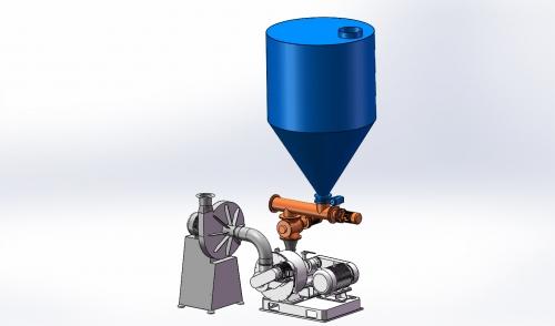 碳酸氢钠(NaHCO3,小苏打)粉末制备机